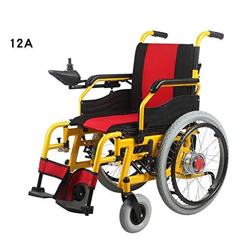 Oudere mensen met een handicap Freedom Series Gold elektrische rolstoel met inklapbare mobiliteit, exclusieve draagbare elektrische rolstoel met de beste beoordeling, toegestaan in het vliegtuig, compact toepasbaar