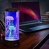 Lámpara de medusas LED con 7 cambios de color para acuario, luz nocturna infantil, lámpara de noche para niños, decoración de habitaciones, luz para Navidad, Año Nuevo, cumpleaños, el mejor regalo