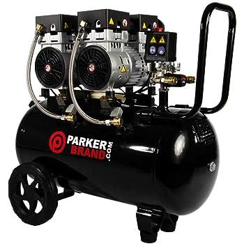 ParkerBrand 50 Litre Oil Less Air Compressor