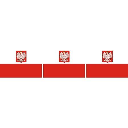 Etaia 2 5x4 Cm 3x Mini Aufkleber Fahne Flagge Von Polen Mit Adler Polska Kleine Sticker Auto Fahrrad Motorrad Bike Europa Länder Auto