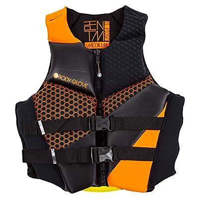 Body Glove Men's Phantom Uscga Life Vest, XX-Large, Orange/Black