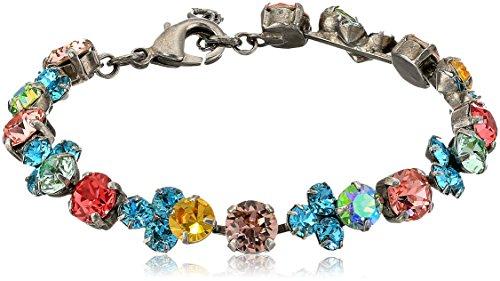 Sorrelli Womens Vivid Horizons Wisteria Bracelet, Blue, 7.25