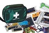 Kinder Erste Hilfe Set (50 Stk) - Beinhaltet Antiseptisch Creme & Augenspülung