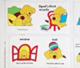 'Spot's First Words' Puppy Fabric Book Panel - Officially Licensed (Great for Quilted Book, Quilting, Sewing, Craft Projects, Wall Hangings, Throw Pillows and More) 35' X 44'