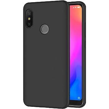 AICEK Funda Xiaomi Mi A2 Lite, Negro Silicona Fundas para Xiaomi ...