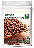 Naturevibe Botanicals Organic Brown Flax Seed (2lb), Gluten-Free & Non-GMO (32 ounces)...