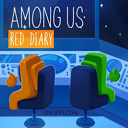 Among Us Book - Red Diary Audiobook By Zeekid Media cover art