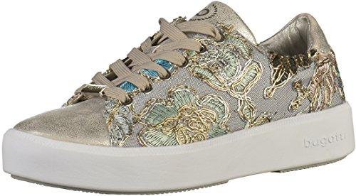 bugatti Damen 421407055969 Sneaker, Silber (Silver/Multicolour 1381), 40 EU