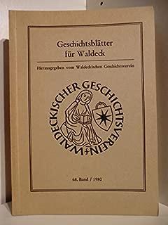Geschichtsblätter für Waldeck 68. Band 1980.