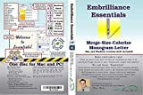Embrilliance Essentials - Embroidery Software for Mac & PC NO CD/DVD   Download link via Amazon Message/Email)   Delivery within 24 Hours