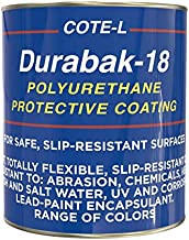 Durabak Company Fade Resistant DIY Roll On Dark Grey Textured Bed Liner Kit. 1 Gallon, 2 Roller Sleeves and 1 Bumper Sticker