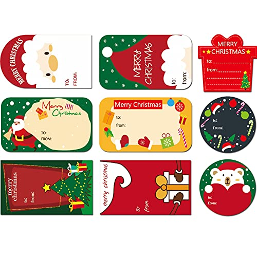 Pegatinas De Navidad Redondas Feliz MuñEco Nieve Elf Bells Snow Reno Juguetes DecoracióN Sellos NavideñOs for Fiestas Infantiles Bolsas Sobres Regalo Presenta