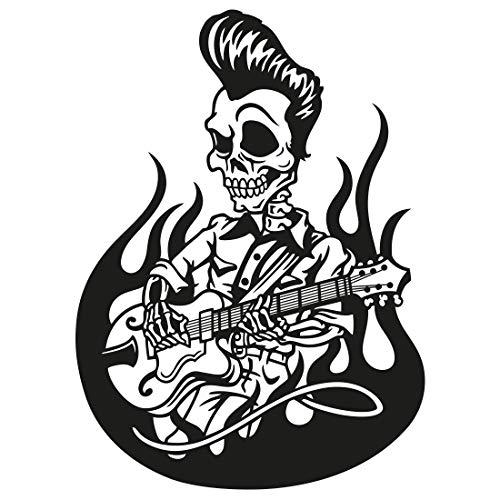 Wandtattoo Elvis Skelett L - 58cm x 80cm - Duvar Tattoo - 23 mögliche Farben