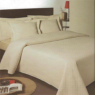 Linens Limited Tagesdecke Ariana - Bettdecke - Matelasse - Creme - 180 x 260 cm