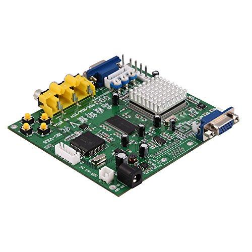 CGA/EGA/YUV/RGB zu VGA Arcade Spiel HD Video Konverter Adapter Board für CRT LCD PDP Monitor