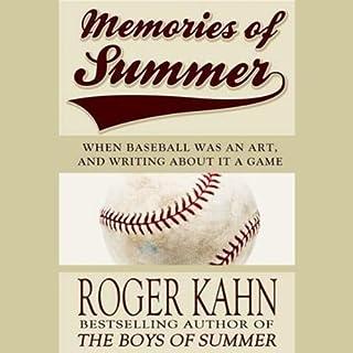 Memories of Summer audiobook cover art