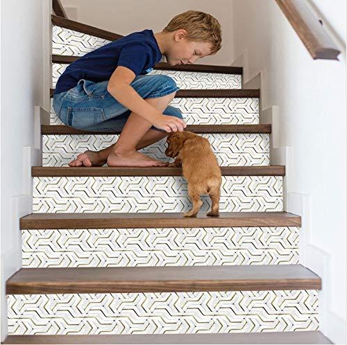 Boden Aufkleber DIY treppen Aufkleber 3D Hause dekorative treppe wandtattoos Selbstklebende Boden Schritt Poster wasserdichte treppe wandaufkleber