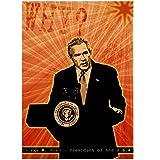 Wandbild Foto von George W Bush Präsident von Amerika