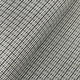 Jacquard Strick, Pepita Musterung Grau als Meterware zum