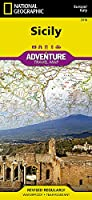 National Geographic Adventure Map Sicily: Italy