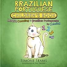 Brazilian Portuguese Children's Book: Learn Counting in Brazilian Portuguese by Coloring