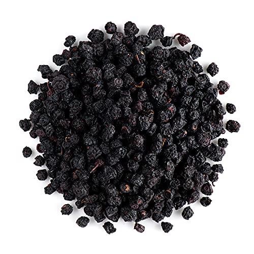 Arándanos negros orgánicos enteros - Arándanos negros deshidratados sin azúcar añadido - Vaccinium myrtillus L.