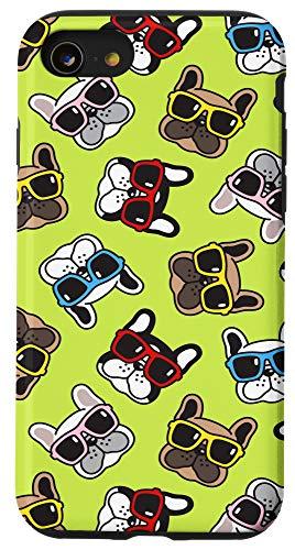 iPhone SE (2020) / 7 / 8 French Bulldog Pattern Phone Case - Funny Dog Lover Case