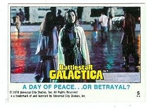 Jane Seymour trading card Battlestar Galactica 1978 #5 Serina
