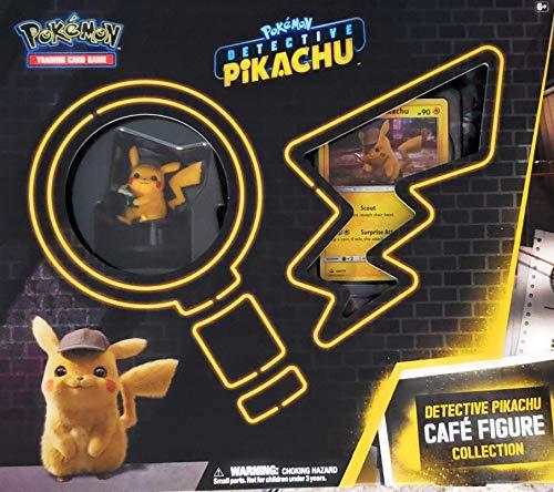 Pokémon POK80637 TCG: Detective Pikachu Cafe Colección de figuras, varios colores , color/modelo surtido