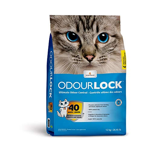 Odoulock 70011 Lettiera per Gatti, 12 kg
