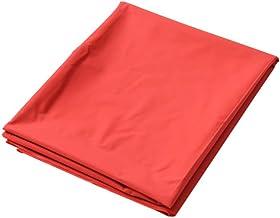qiaoke Gummi Bettlaken, wasserdichte Bettlaken, Bettschutz für Inkontinenz wasserdichte und hypoallergene PVC Adult Sexy Game Queen Sheetsadullt Sexspiele für Paare-Rot 2,2  2,0 m