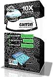 carron Nanoversiegelung Auto Frontscheibe polieren Scheibenversiegelung für Lotuseffekt + Steinschlagschutz wie unsichtbarer Scheibenwischer Abperleffekt (US-Patent)