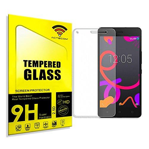 ACTECOM Protector Pantalla Cristal Vidrio Templado BQ M5.5