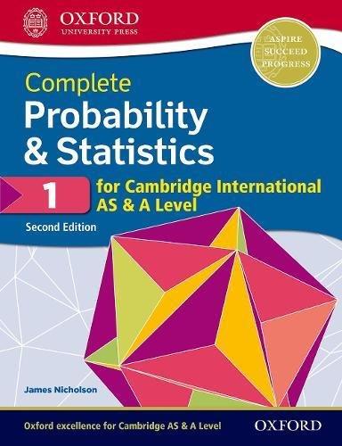 Cambridge International AS and A Level Probability and Statistics. Student's book. Per le Scuole superiori. Con espansione online: 1