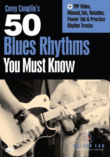 50 Blues Rhythms You Must Know [DVD] [Region 1] [US Import] [NTSC]