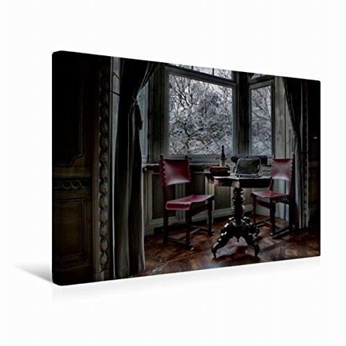 Premium Textil-Leinwand 45 x 30 cm Quer-Format Geheimnisvolle Orte - Lost Places | Wandbild, HD-Bild auf Keilrahmen, Fertigbild auf hochwertigem Vlies, Leinwanddruck von Eleonore Swierczyna