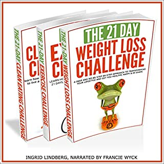 21-Day Challenges Box Set 2 - Weight Loss, Exercise & Clean Eating (Volume 16) cover art