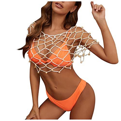 Kanpola Strandkleider Damen Crochet...