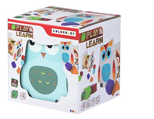 Owl bois Formes et Couleurs (ColorBaby 42749) ...