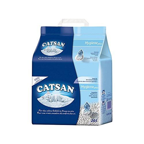 Catsan Hygienestreu 6 x 20 Liter Aktions Jahres Vorrat (120 Liter)