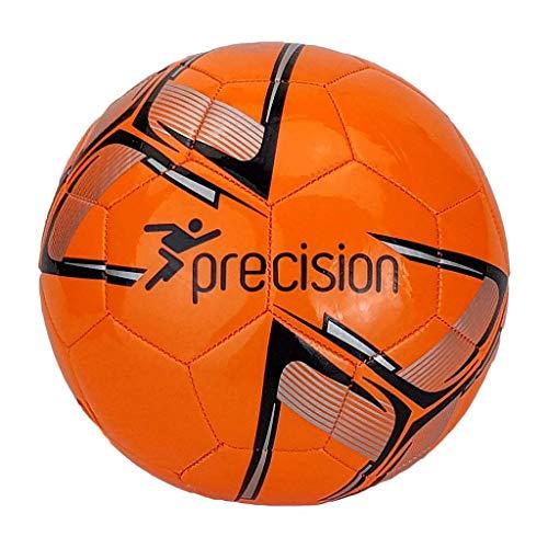 Precision Training - Mini Palla da Allenamento Unisex per Giovani Precision Fusion, Colore: Arancione/Nero, 1