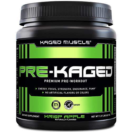 Kaged Muscle - Pre-Kaged Pre-Workout Primer Krisp Apple - 1.41 lbs.