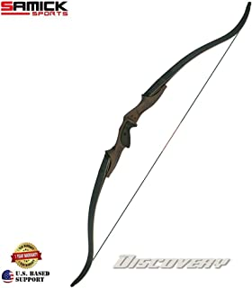 """SAMICK 62"""" Discovery Fully MACHINED CNC Riser & Foam CORE Carbon ILF Hunting Bow (Muddy Oak Color Right Hand ONLY)"""