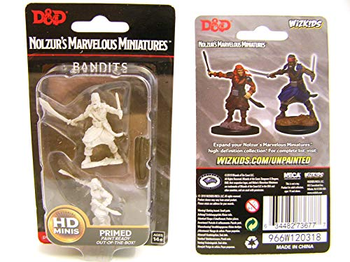 Dungeons & Dragons Nolzur's Marvelous Unpainted Miniatures - Bandits