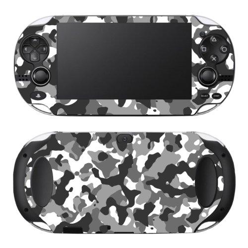 Disagu Design Skin für Sony Playstation Vita - Motiv Camouflage Schwarz