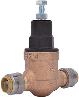 1/2 in. Bronze EB-45 Direct Push-to-Connect Pressure Regulator Valve