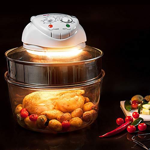 SQ Professional Blitz Halogen Oven - 12-17L - 1400W - Extender Ring