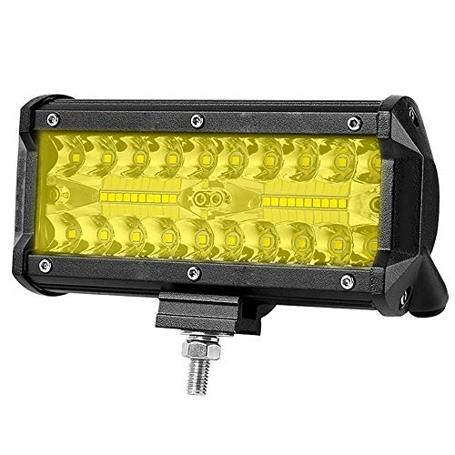HEHEMM 17,8 cm 120 W Combo LED Spot Flood Faisceau de Travail Conduite Offroad Barres d'éclairage pour Bateau de Voiture Tracteur Camion