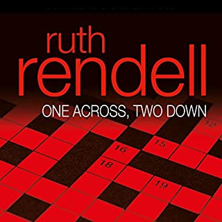 One Across, Two Down audiobook cover art