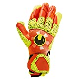 Uhlsport Impulse SUPERGRIP Reflex, Guanti da Portiere Unisex Adulto, Dynamic Orange/Fluo G...